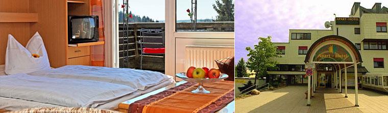 Bayrischer Wald Ferienwohnungen und Appartements im Aparthotel Predigtstuhl in St. Englmar